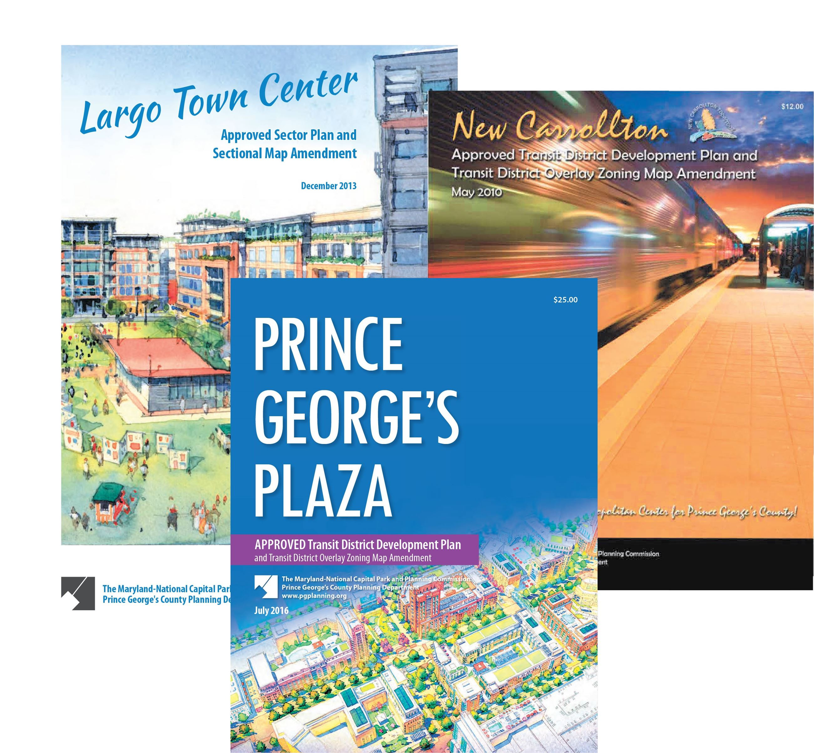 Downtown Plan Covers