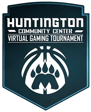 virtual gaming tournament logotype