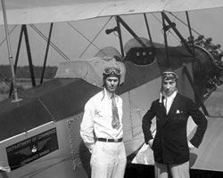 Pilots Posed With Aircraft