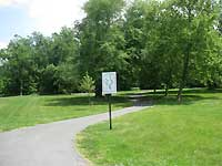 College Park Trail Sign