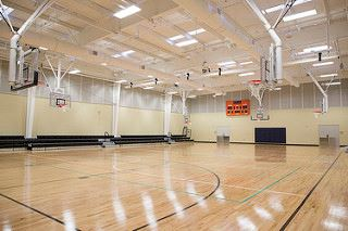 Indoor Basketball Court/gymnasium at Westphalia Community Center