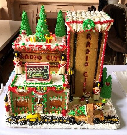Fiona Murray Radio City Gingerbread House