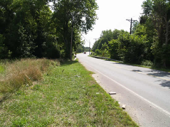 Brandywine Entrance road